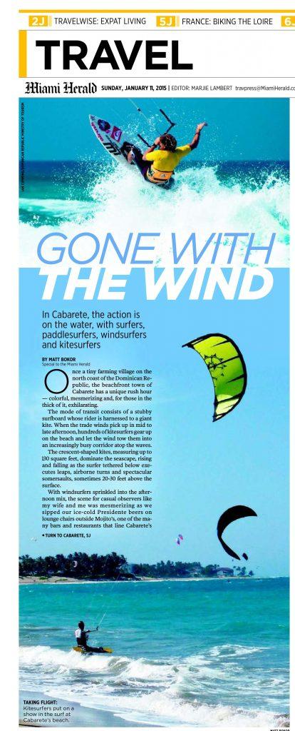 Miami Herald travel cover 11Jan15