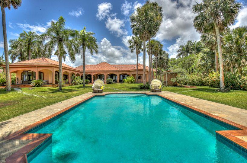 Mediterranean Style Caribbean Villa