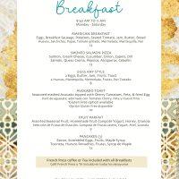 Breakfast Menu 1 1